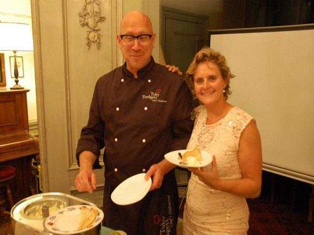 Verticale proeverij Maury met chefkok Toby Tredgett